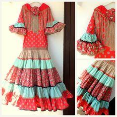 carretasybueyes: Colección 2013 Spanish Fashion, Trumpet Skirt, Tribal Dress, Wedding Costumes, Folk Costume, Festival Wear, Fishtail, Traditional Dresses, Dance Wear