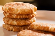 Soft, chewy, and cinnamon-y. Most of my coworkers had never heard of Snickerdoodles before, but now the recipe gets requested a lot!