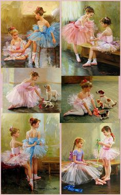 Dancing girl painting little ballerina ideas Art Ballet, Ballerina Painting, Painting Of Girl, Painting People, Ballet Dancers, Ballerina Kunst, Ballet Photos, Little Ballerina, Girl Dancing