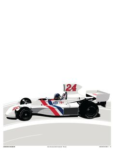 LEGENDS NEVER DIE - #005 James Hunt Limited Edition of 50 Available now at www.TheCurbShop.com
