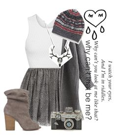 """""""~seein Christmas lights later~"""" by boobear1707 ❤ liked on Polyvore featuring Jonathan Simkhai, RED Valentino, Chinese Laundry, Victoria's Secret and Judith Leiber"""