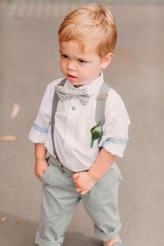 Wedding Outfit For Boys, Wedding With Kids, Summer Wedding, Dream Wedding, Wedding Ring, Wedding Ceremony, Toddler Wedding Outfit Boy, Baby Boy Christening Outfit, Wedding Page Boys