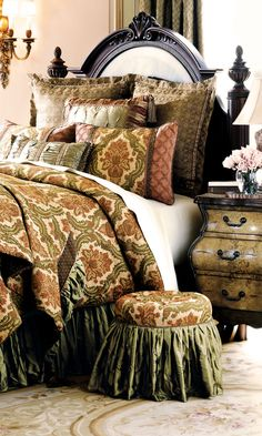 Eastern Accents Arosa Bedding Collection interior design architecture décor decoration decorating styling eastern home inspiration Asian texture