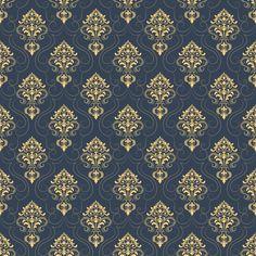 Векторные дамасской бесшовные фоном шаблон. Классический роскошный старомодный дамасский орнамент, королевская викторианская бесшовная текстура для обоев, текстиль, упаковка. Изысканный цветочный шаблон в стиле барокко. Бесплатные векторы