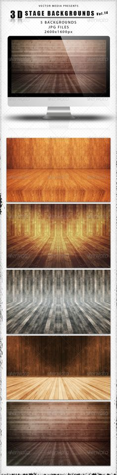 3D Stage Backgrounds - Vol.14
