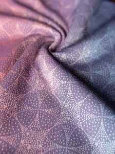 Orion Swathe baby wrap made in Scotland from Sea Island Cotton and cashmere  by Oscha Slings fd6bf3b7453