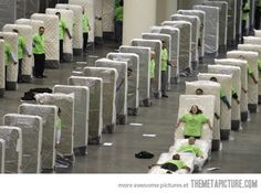 Meanwhile at the mattress factory...Just the thought of this is making me me laugh out loud. So hard.