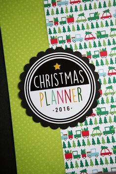 Make your own Christmas Planner using a composition notebook | Christmas Crafts and Printables