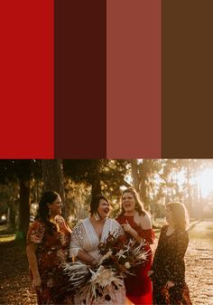 Looking for tips on styling mismatched bridesmaid dresses? Check out these color palettes to help you bring your vision together!    Image by Northern Native Photography Mismatched Bridesmaid Dresses, Bridesmaid Dress Colors, Bridesmaids, Boho Wedding, Wedding Blog, Fall Wedding, Wedding Ideas, Bridesmaid Inspiration, Wedding Inspiration