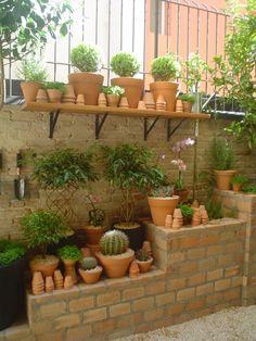 Fotos de jardins modernos: pequeno jardim apartamento tÉrreo. sÃo paulo.brasil | homify