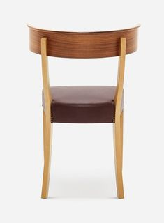 Josef Frank was inspired by the ancient Greek Klismos chair when he designed Chair This type of chair arrived in Sweden in the late - Chair Beech Walnut, Josef Frank
