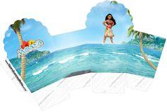 Moana: Cajas para Imprimir Gratis. | Ideas y material gratis para fiestas y celebraciones Oh My Fiesta!