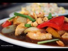 Frango xadrez e arroz chop suey Chop Suey, Tofu, Chef Taico, Shops, Kung Pao Chicken, Food Videos, The Creator, Meat, Ethnic Recipes