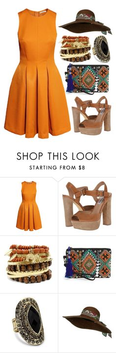 Mix & Match: Summer Outfit #178 by mscody on Polyvore featuring H&M, Steve Madden, Street Level, Matthew Williamson, vintage, Summer, summerstyle, summeroutfit and summerfashion