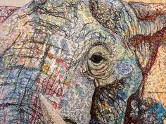 Textile 'Collages' of Endangered Animals by Sophie Standing | Hi-Fructose Magazine