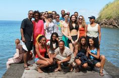 Visiting the beach in Martinique (WLC Trip)