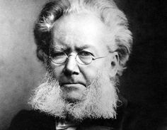 Henrik Ibsen (20 marzo 1828 – 23 maggio 1906)