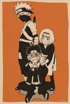 Naruto Uzumaki, Anime Naruto, Naruto Cute, Naruto Funny, Otaku Anime, Boruto, Manga Anime, Team Minato, Naruto Teams