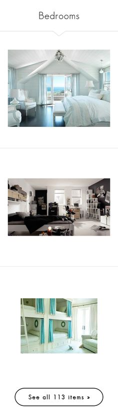 """Bedrooms"" by laceyleanne18 ❤ liked on Polyvore featuring rooms, bedroom, home, backgrounds, ambientes, house, pics, pictures, bedrooms and photos"