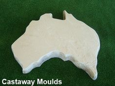 austalian map stepping stone Stepping Stone Pathway, Stepping Stone Molds, Concrete Paver Mold, Garden Ornaments, Pathways, Make Your Own, Garden Ideas, Range, Patio