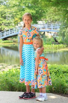 Spring Days Sister Dress sizes 3 months - 12 years by ImpactInspiredShop, $26.99