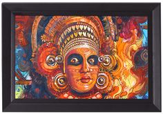 Cash On Delivery | Theyyam Face | A4-114-e | Buy This Stuff Online