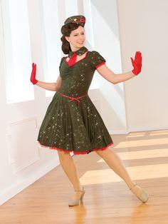 Bugle Call Rag | Revolution Dancewear Costume Collection