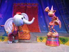 Cinderella Della Circus Center for Puppetry Arts