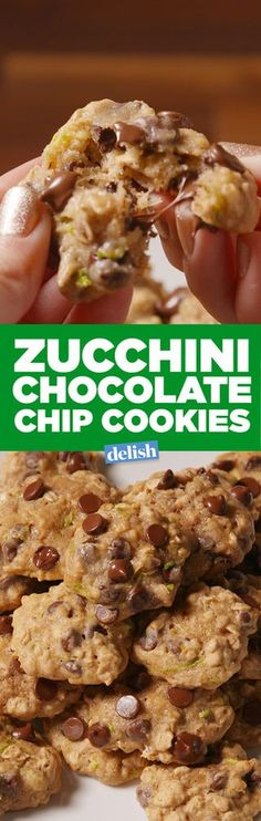 Baking Zucchini Chocolate Chip Cookies Video –Zucchini Chocolate Chip Cookies Recipe How To Video