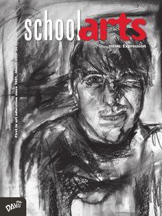 SchoolArts Magazine, March 2008, art education magazine for K-12 art educators, #arteducation, #arted