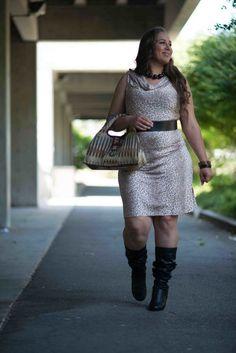 Cheetah Print Consuelo Dress by Jeaja on Etsy, $72.00