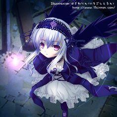 Suigintou {Rozen Maiden} - illusiondolls Fan Art