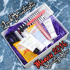 LookFantastic Beauty Box March 2016 Review, Unboxing, Contents