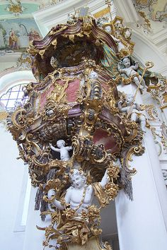 The Pilgrimage Church of Wies : The most perfect expression of the Bavarian Rococo. Germany