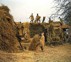1944 ~ The Women's Land Army played a fundamental role in Britain during World War II. The Women's Land Army helped to provide Britain with food at a time when U-boats were destroying many merchant ships bringing supplies to Britain from America. Women In History, British History, Life Is Like, What Is Life About, Vintage Photographs, Vintage Photos, Land Girls, Army Girls, Military Women