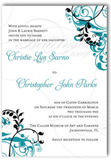Love this style for invitations!
