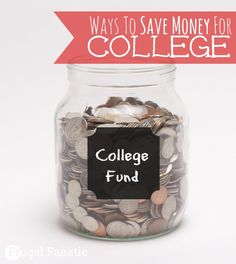 Have you started thinking about putting money away for your child's education? Here are some wonderful tips to help you save money for college now. Money Saving Tips, Saving Money College Fund, Saving For College, Scholarships For College, College Tips, Savings Planner, Budget Planner, College Survival Guide, College Savings Plans, Living On A Budget