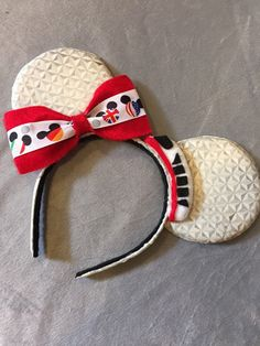 Epcot inspired ears by InspiredByAMouse on Etsy