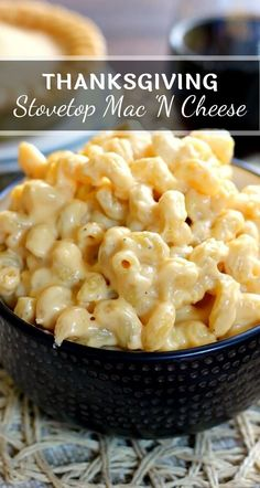 This Creamy Stovetop Macaroni and Cheese takes just minutes to prepare, contains. - This Creamy Stovetop Macaroni and Cheese takes just minutes to prepare, contains two types of chees - Stovetop Mac And Cheese, Creamy Macaroni And Cheese, Macaroni Cheese Recipes, Mac And Cheese Homemade, Pasta Recipes, Cooking Recipes, Cooking Fish, Creamy Cheese, Mac And Cheese Recipe No Bake