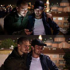 """Aras Bulut Iynemli latin fans (@arasbulutlatinfans) on Instagram: """"Brothers . . . #arasbulutiynemli #cagatayulusoy #içerde #sarpyilmaz #mertkaradağ"""""""