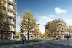 Gallery of Kjellander Sjöberg Designs Four Cross-Laminated Timber Blocks to Enrich the Uppsala Cityscape - 6