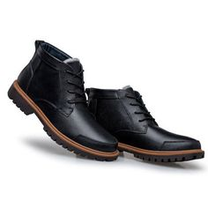 d148131f77 Big Size Men s Vintage Retro High Top Lace Up Flat Casual Boots Tall Men  Fashion