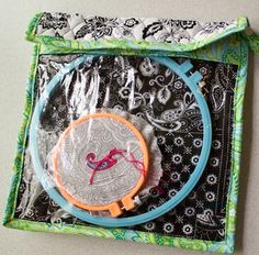 """Ready,Set,Go! ~ The """"You Can Take It With You"""" Embroidery Project Bag « Sew,Mama,Sew! Blog"""