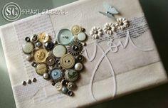 DIY button craft idea.