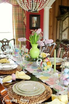 Tablescape Tuesday: An Easter Celebration!