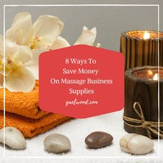 Check out my top 8 ways to save money on supplies for your massage or spa business! Massage Room, Spa Massage, Massage Therapy, Massage Business, Spa Design, Going Out Of Business, Marketing Training, Room Goals, Spa Services