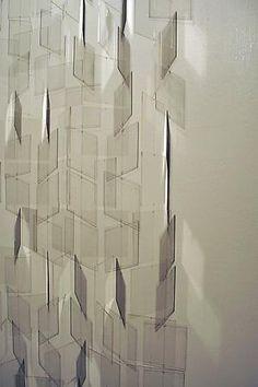 Julio le Parc, transparent acrylic
