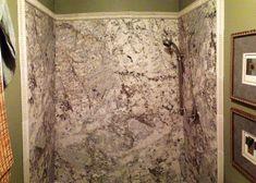 Marble showers on pinterest marble bathrooms cultured marble shower - Cultured Marble Shower On Pinterest Granite Shower
