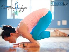 Baby Crane - A Challenge Pose To Build Core Strength