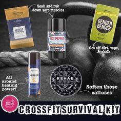 #PerfectlyPosh Crossfit Survival Kit │ www.poshbytessa.com